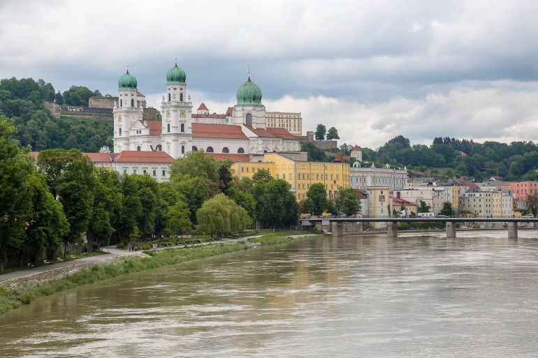 Old town passau, Danube