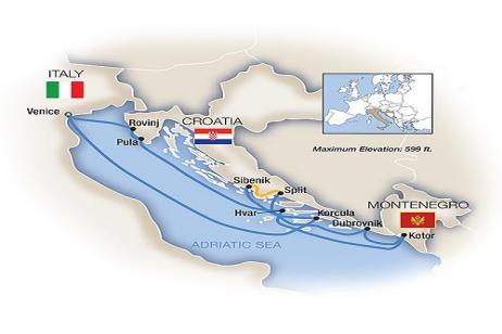 Venice & the Dalmatian Coast 2018 tour