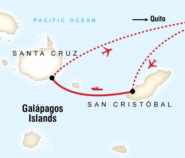 Charles Darwin Research Station Darwin Family Land Galápagos — Multi-Activities Trip