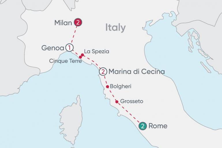 Cinque Terre Genoa Italian Explorer Trip