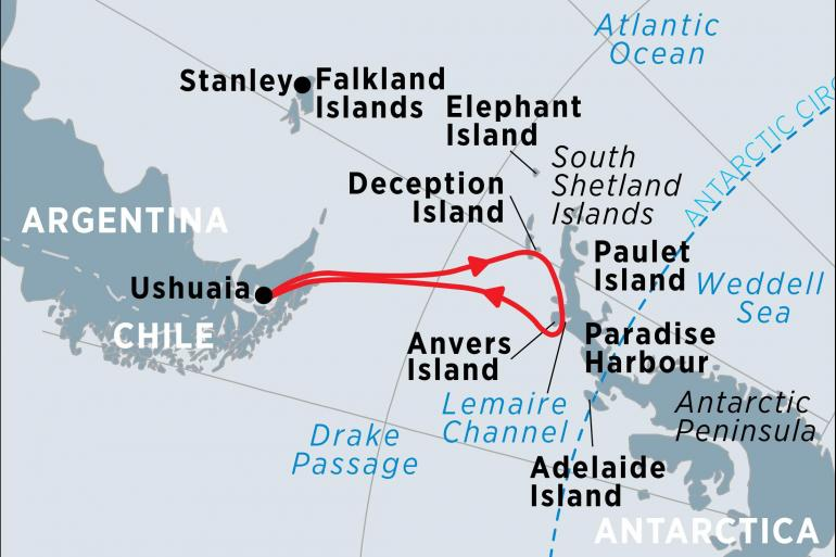 Cultural Culture Discover Antarctica package