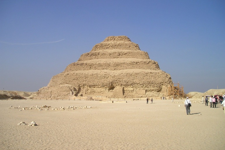 Historic pyramid-Egypt-484-p