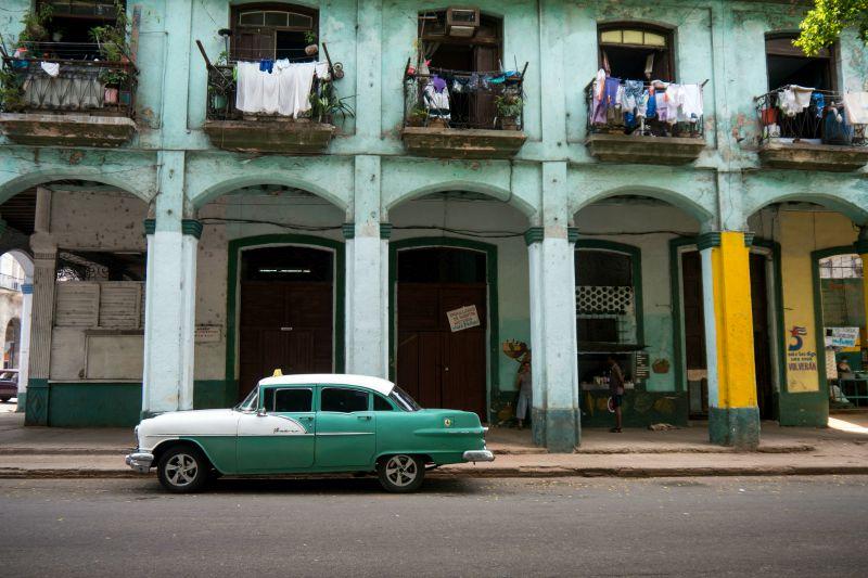 Old Car, Havana Cuba