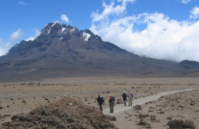 Machame Route from Alpine Ascents International tour