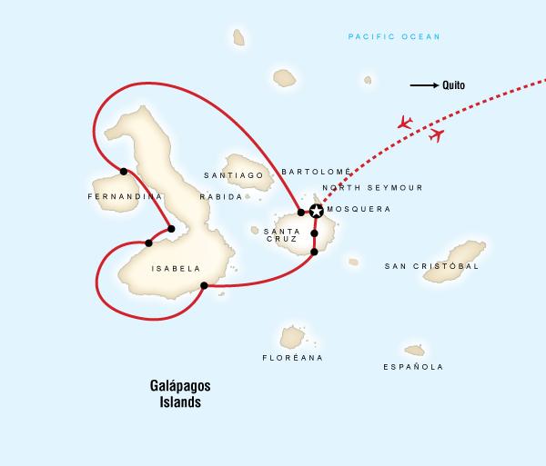Guayaquil Isabela Island Galápagos — West Islands aboard the Archipell I/II Trip