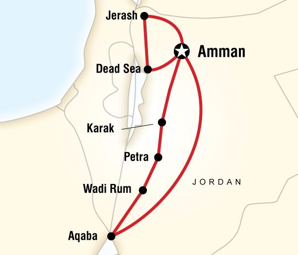 Amman Cork Highlights of Jordan Trip