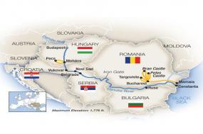 Budapest to the Black Sea - Eastbound 2018