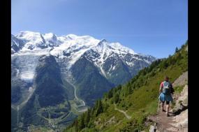 Tour du Mont Blanc Camping Trek tour