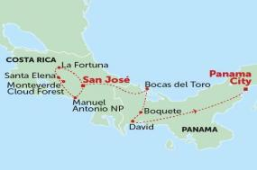 San Jose to Panama City tour
