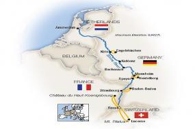 The Romantic Rhine: Basel to Amsterdam - Northbound 2019