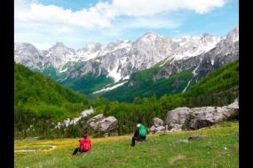 Walking in Albania tour