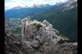 Introduction to Via Ferrata tour