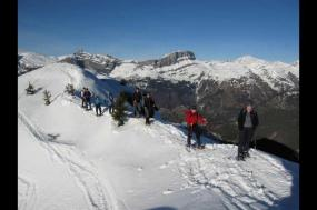 Mont Blanc Snowshoe Week tour
