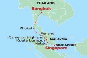 Singapore to Bangkok tour