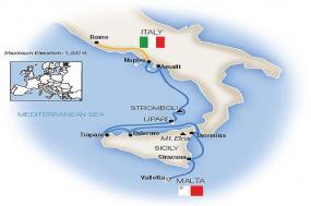 Sicily, the Amalfi Coast & Rome - Northbound 2019