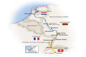 The Romantic Rhine: Basel to Amsterdam - Northbound 2018