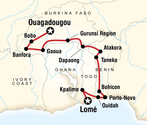 Atakora Benin The Voodoo Trail Trip