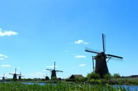 Holland and Belgium Bike & Barge Amsterdam tour