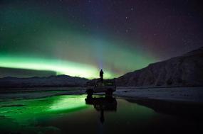 Aurora and Ice Caves Photo Tour around Iceland tour