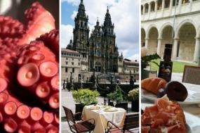 Enjoy the culmination of the Camino de Santiago & discover the magic cuisine of Galicia