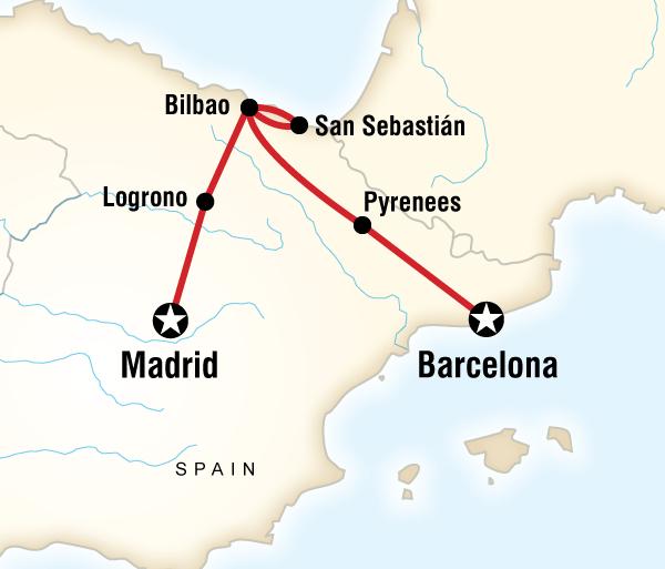 Barcelona Bilbao Best of Northern Spain Trip