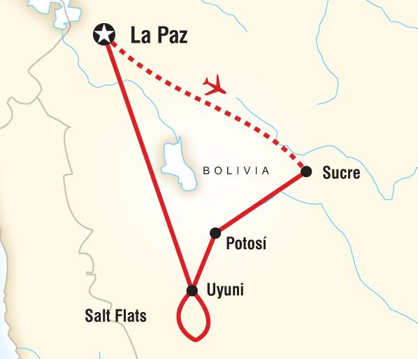La Paz Sucre Bolivia Discovery Trip
