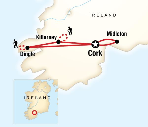 Cork Killarney National Park Ireland Hike, Bike & Kayak Trip