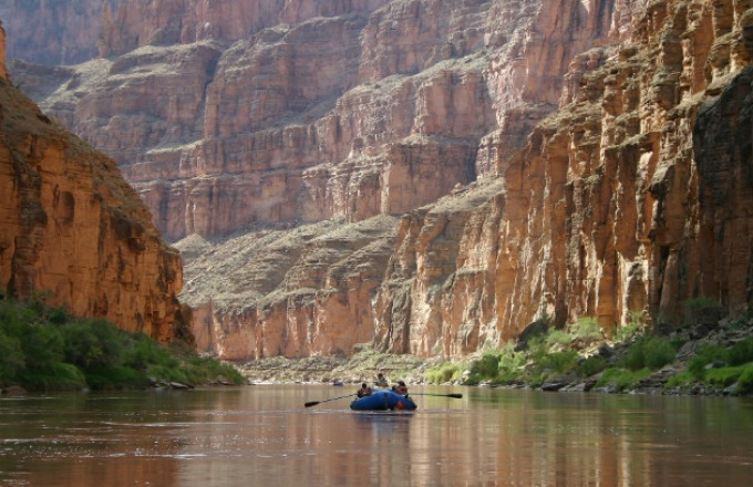 Grand Canyon Rafting -- Lees Ferry to Phantom Ranch  tour