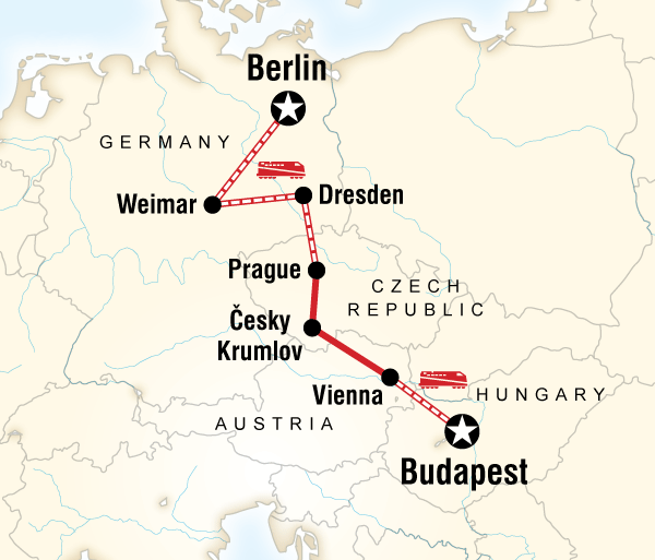 Berlin Budapest  Central & Eastern Europe Highlights Trip