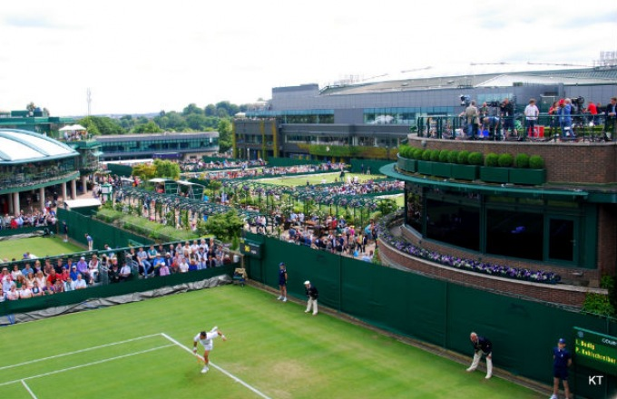 Centre Court at Wimbledon: Inside the World's Most Historic Tennis Tournament tour