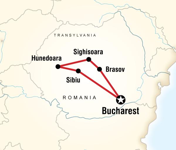 Brasov Bucharest Transylvania Unearthed – Halloween Edition Trip