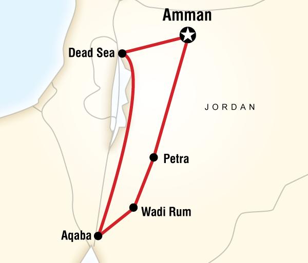 Amman Dead Sea Jordan Family Adventure Trip