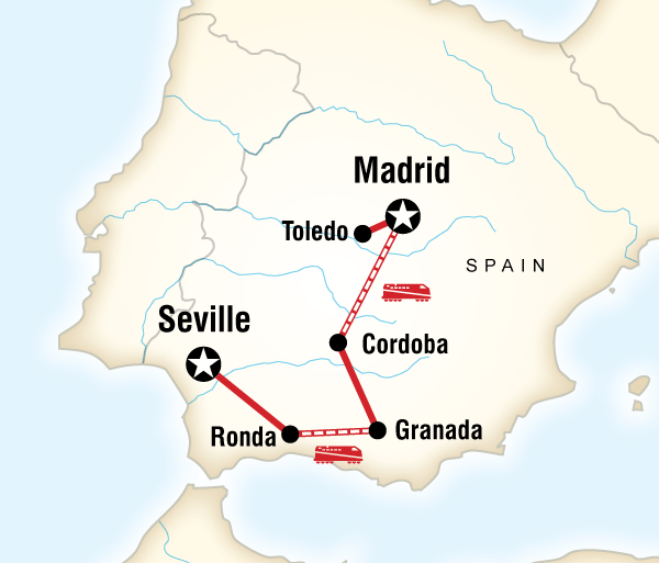 Córdoba Granada Moorish Spain Trip
