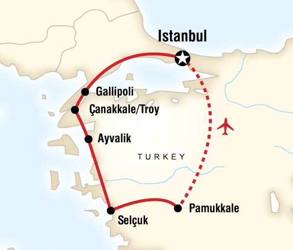 Çanakkale Ephesus The Best of Turkey Trip