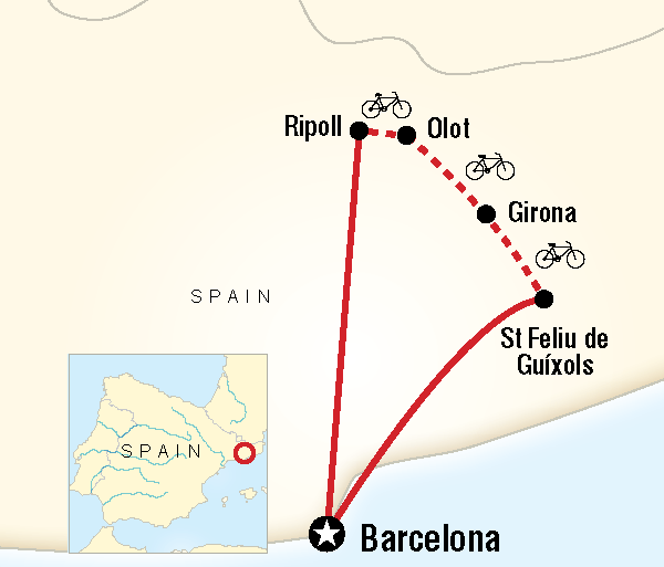 Adventure Cycling Cycle Northern Spain package