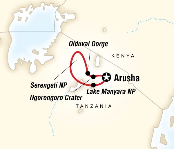 Arusha Lake Manyara National Park Tanzania Safari Experience Trip