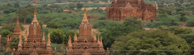The Shwedagon Pagoda, Bagan, Myanmar