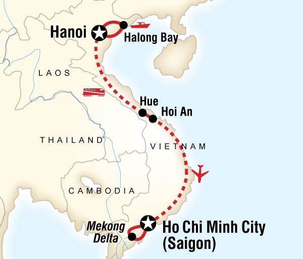Hanoi Ho Chi Minh Vietnam Family Adventure Trip