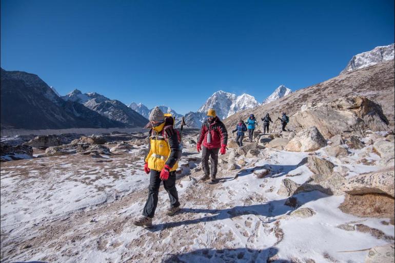 Himalayas Kathmandu Everest in Full Picture - Basix Trip