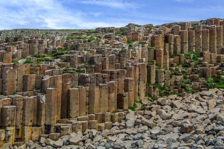 Incredible stones over Giants Causeway_Ireland- 2573628-P