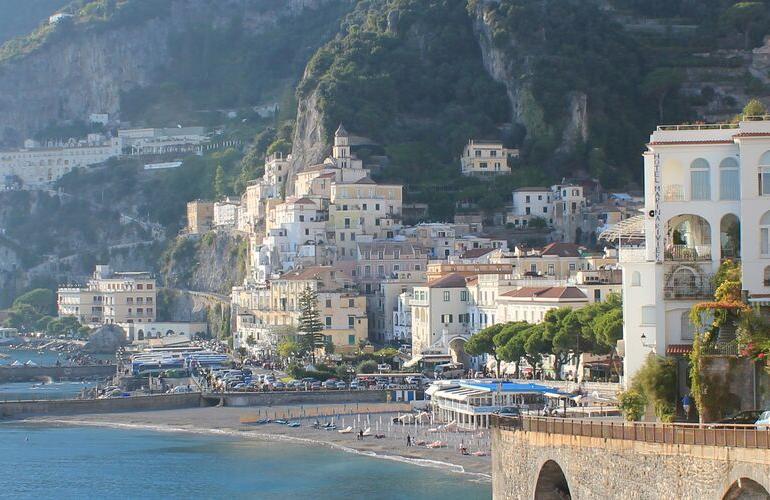 Rome to Amalfi tour