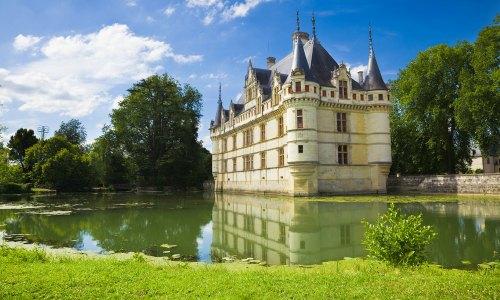 Chateau Azay le Rideau, France