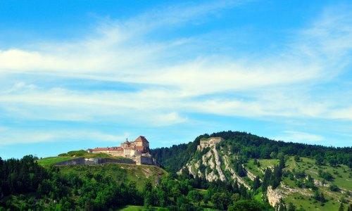 Chateau du Joux, France
