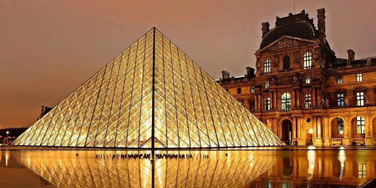 Louvre in Paris, France
