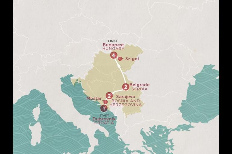Belgrade Budapest Road to Sziget Trip