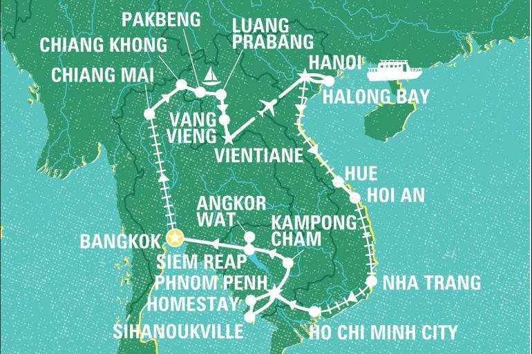 Chiang Mai Hanoi Epic South East Asia Trip