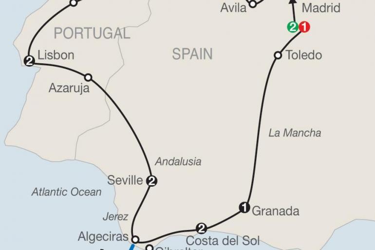 Granada Lisbon Iberian Discovery & Morocco Trip