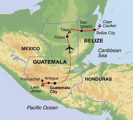 Buenos Aires Caye Caulker Journey through Guatemala & Belize Trip