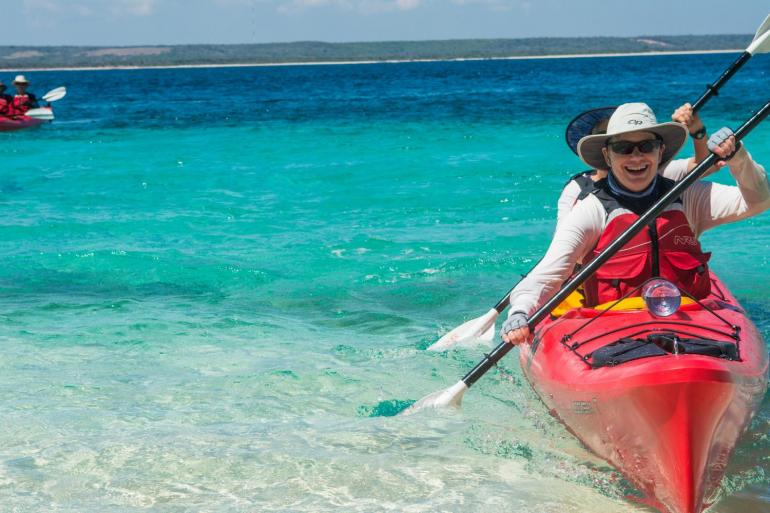 Kayaking in the Wake of Christopher Columbus  tour