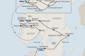 The Scandinavian with Iceland tour
